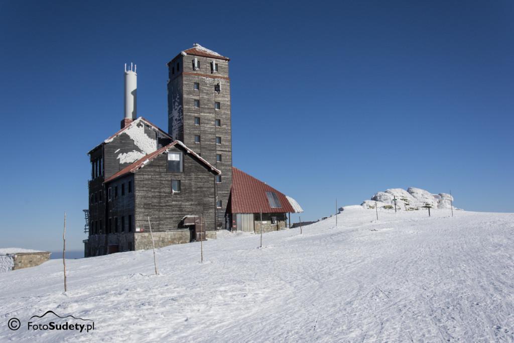 Karkonosze: zimowa galeria Śnieżnych Kotłów