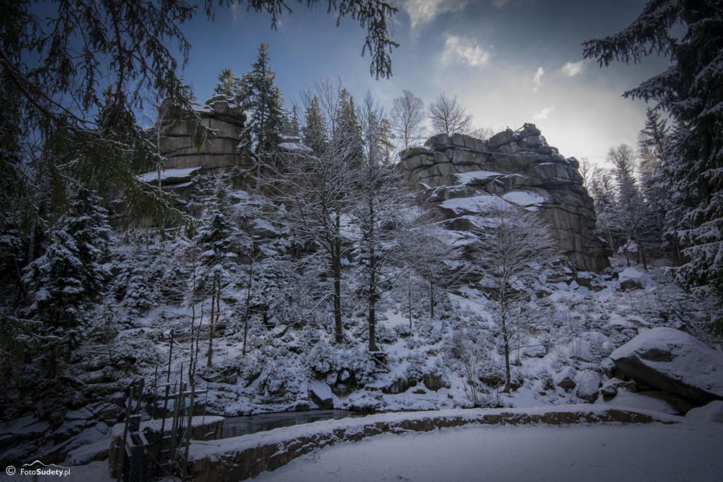 Szklarska Poręba – Krucze Skały, Krzywe Baszty
