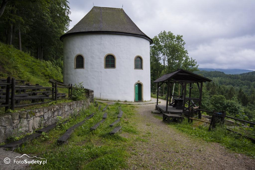 Karkonosze: Sosnówka – Kaplica św. Anny pod Grabowcem, Patelnia, Ostra, Mała