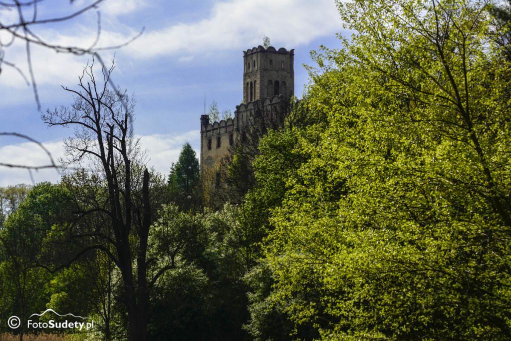 Ruiny zamku w Ratnie Dolnym