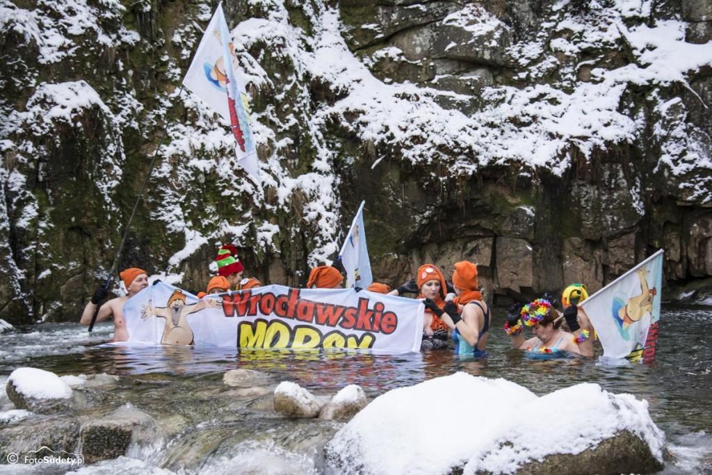 Przesiecka Kąpiel Morsów i Bieg Morsa 2014