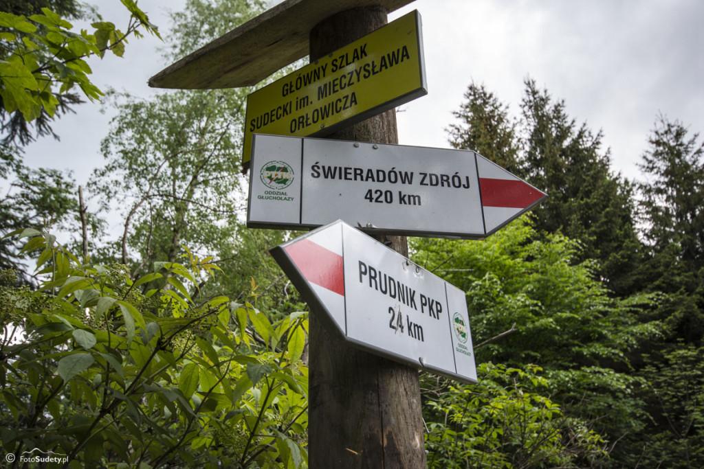 Główny Szlak Sudecki – Etap I (Prudnik – Głuchołazy)