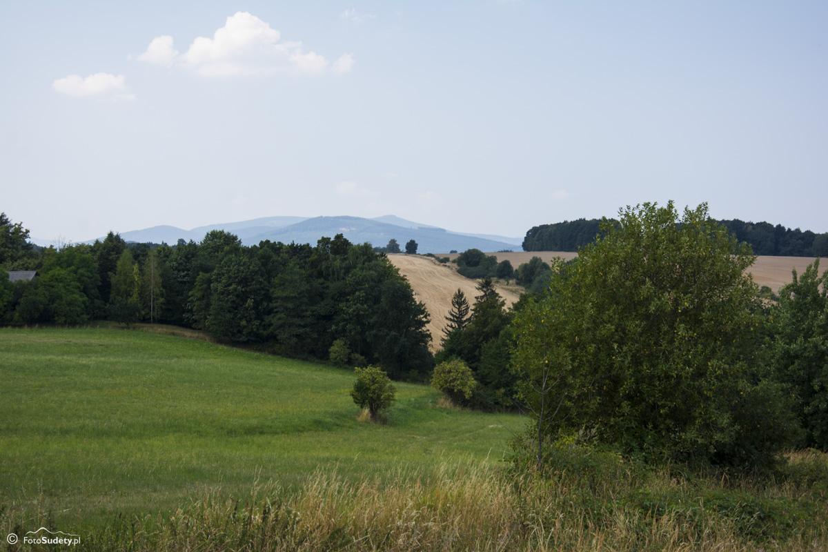 021 Rychlebské Hory - widok z okolic Gierałcic
