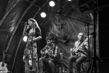 034 Polana 2015 dzień 1 - Basia Beuth z zespołem