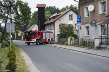 024 Akcja OSP w Gierałcicach