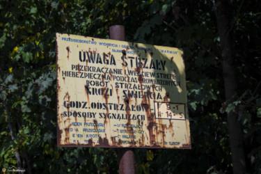 028 tablica ostrzegawcza przed kamieniołomami