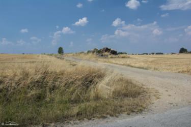 038 skręt szlaku w polną drogę za Sławniowicami