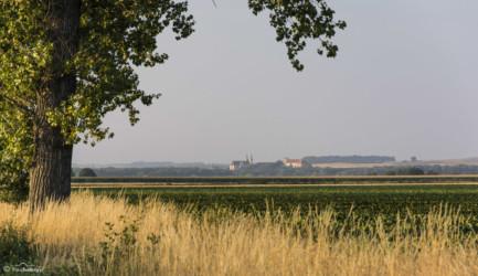058 Widok na Otmuchów z trasy Piotrowice Nyskie - Ratnowice