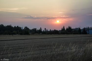 065 przed zachodem słońca nad Trzeboszowicami