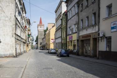 094 Ulica Wrocławska i Wieża Bramy Wrocławskiej