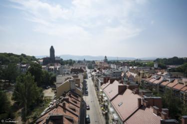 098 Widok z Wieży Wrocławskiej w kierunku Rynku