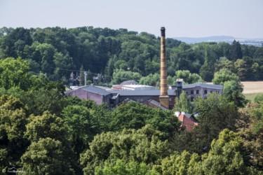 100 Widok z Wieży Wrocławskiej na Muzeum Gazownictwa