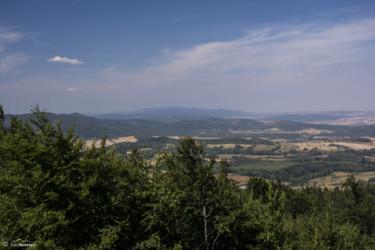 023 Widok na Góry Bardzkie i Góry Sowie z ambony pod Jawornikiem Wielkim