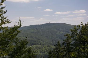 033 Widok spod Jawornika Wielkiego na Borówkową