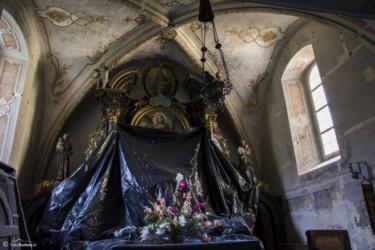 071 Wnętrze kościoła w Kątach Bystrzyckich