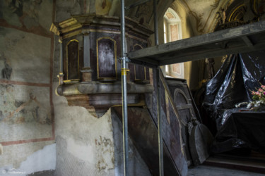 072 Wnętrze kościoła w Kątach Bystrzyckich