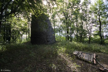 076 ruiny zamku Homole