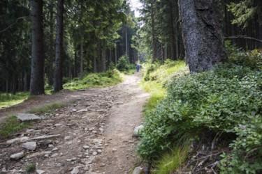 087 Strome podejście na Czarną Górę