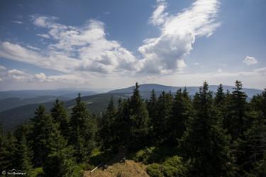091 Widok z wieży na Czarnej Górze w kierunku Śnieżnika