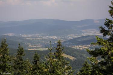093 Widok z wieży w kierunku Stronia Śląskiego