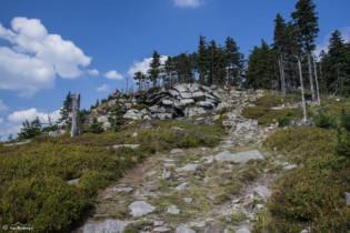 094 Zejście z Czarnej Góry