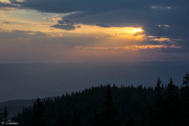 124 Zachód słońca - widok z Hali Pod Śnieżnikiem