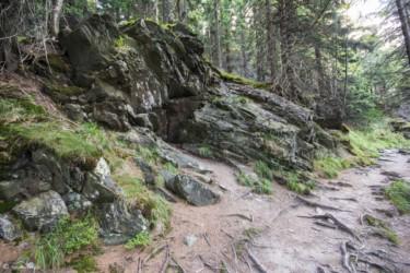 127 skały przy zejściu do Międzygórza
