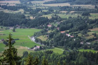 029 Przełom Bobru w Trzcińsku - widok z Sokolika