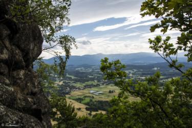 032 Karkonosze - widok z Krzyżnej Góry